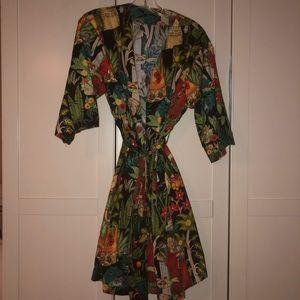 Jackets & Coats - Frida Khalo Print Kimono